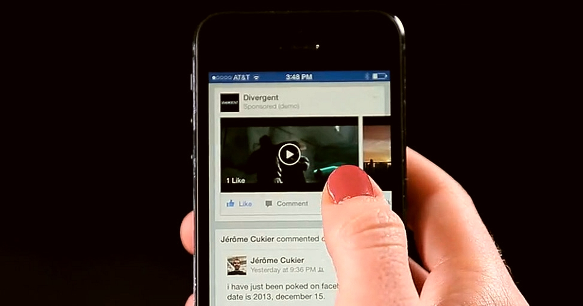 Facebook Re-education of its Videos Feature